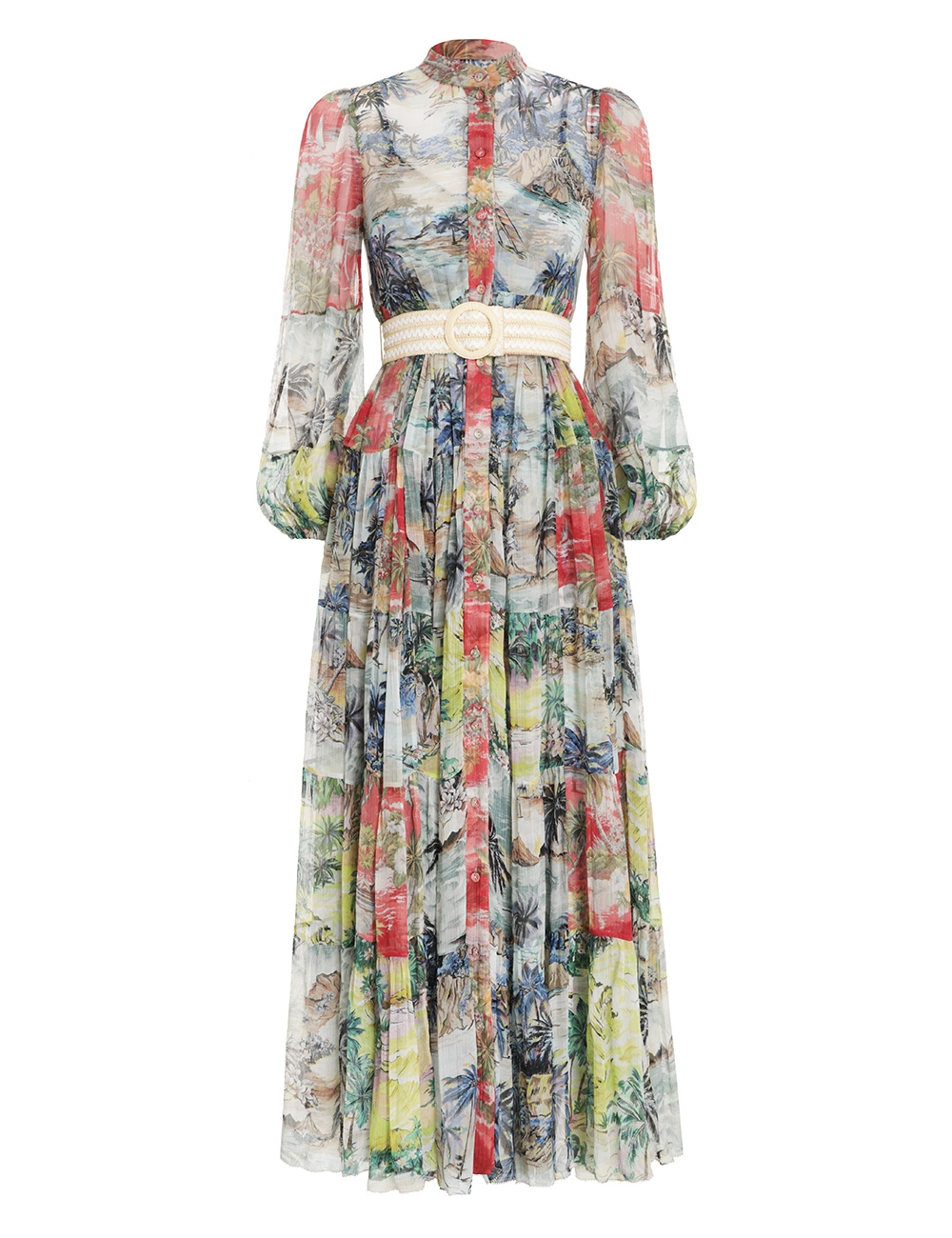 Juliette Tiered Maxi Dress
