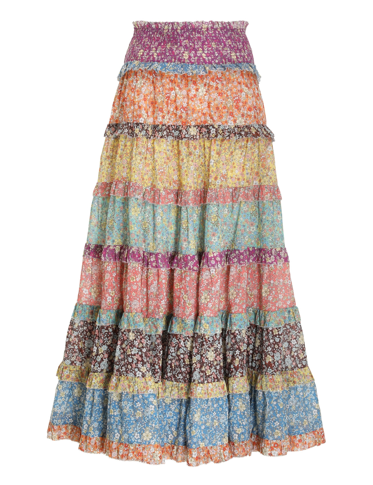 Carnaby Tiered Midi Skirt