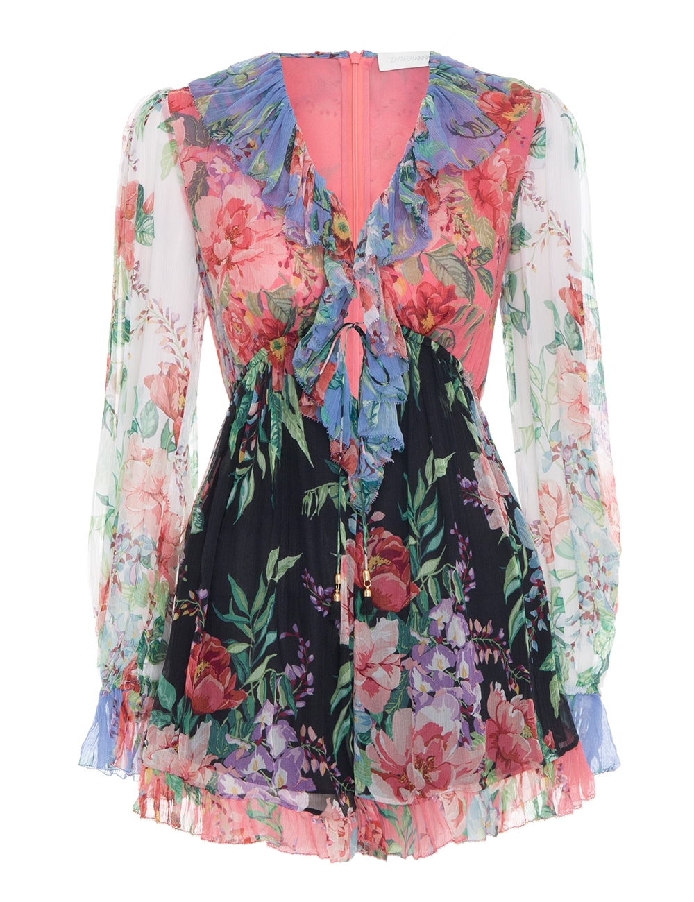 Bellitude Flutter Playsuit