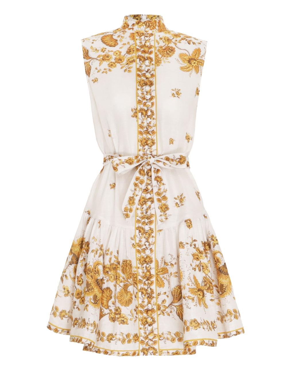 Amelie Flip Hem Short Dress