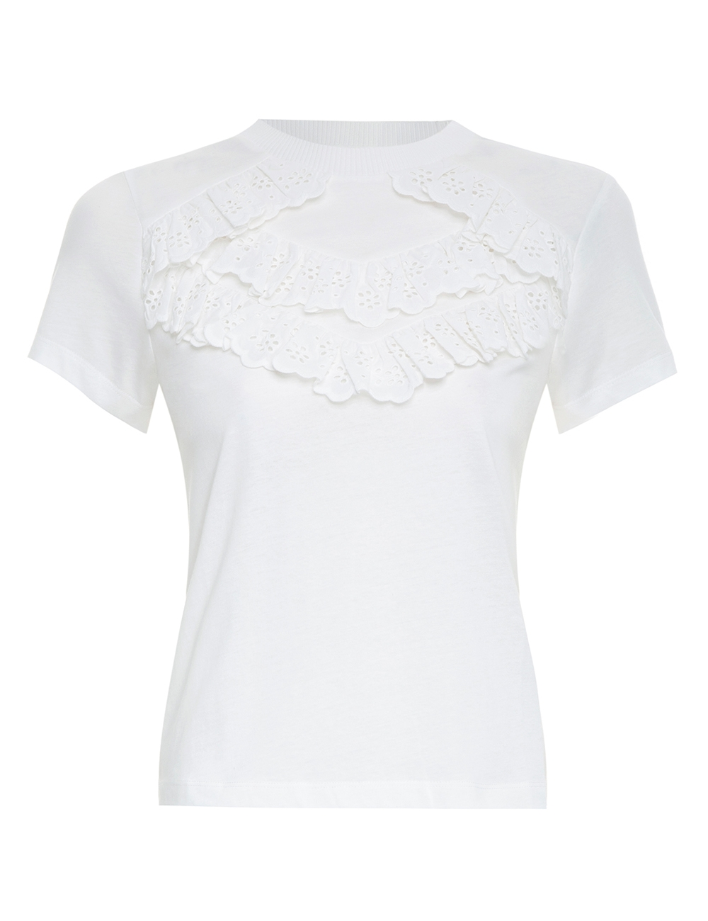 Empire Broderie Tee