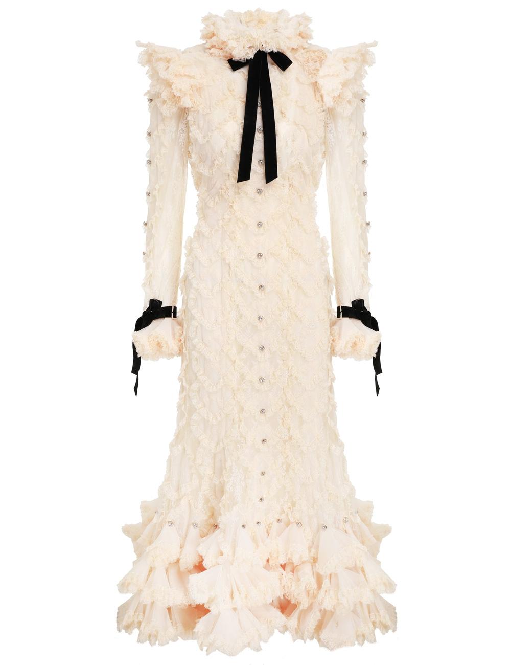 Lucky Lace Handkerchief Dress