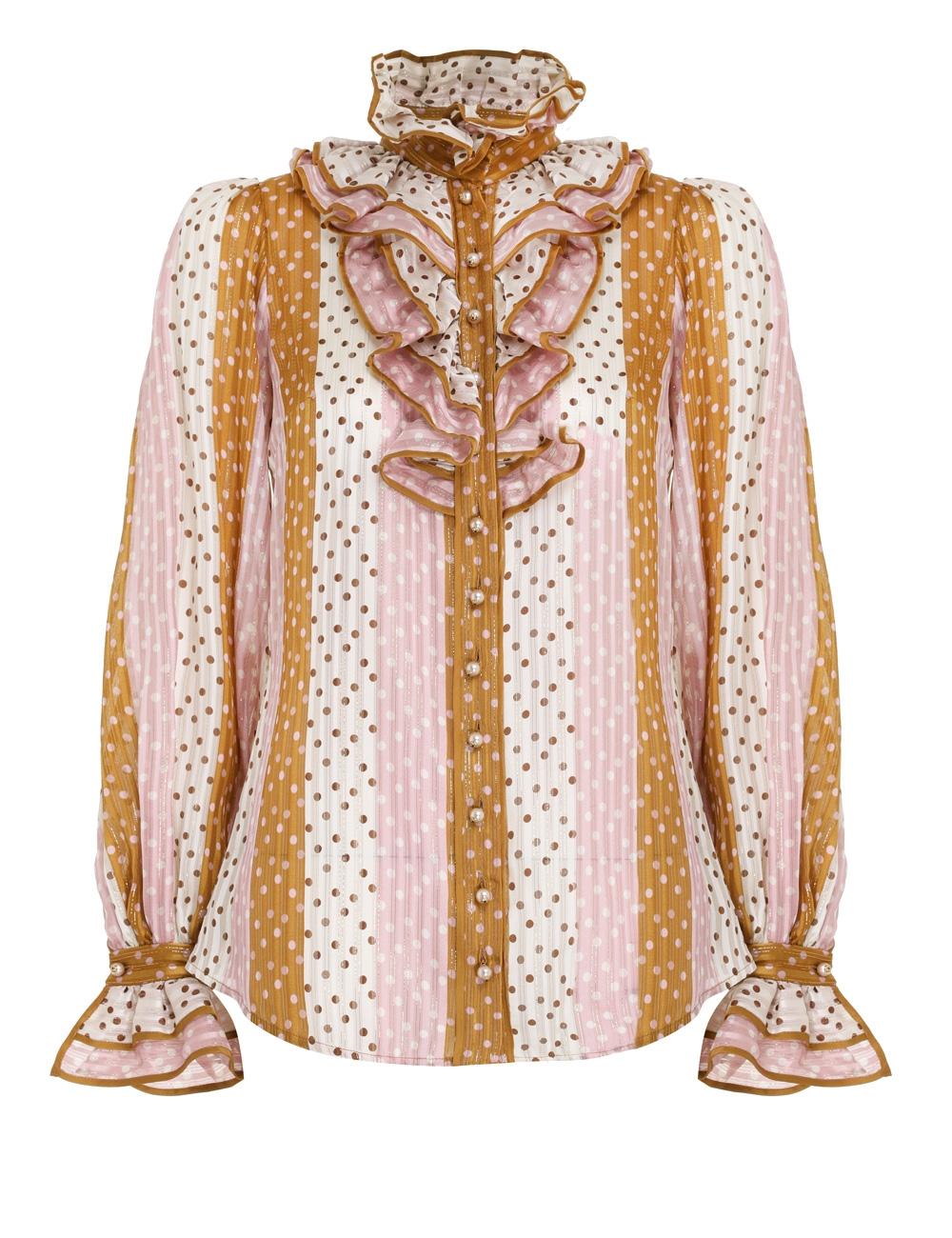 Lucky Ruffled Shirt