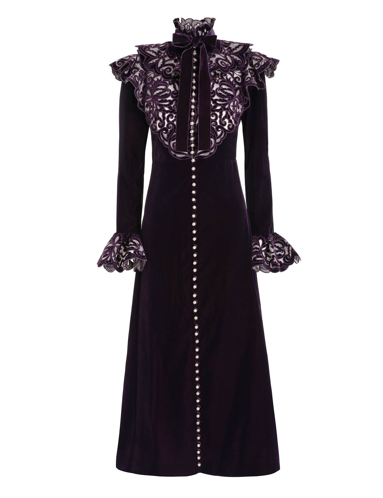 Charm Nouveau Velvet Dress
