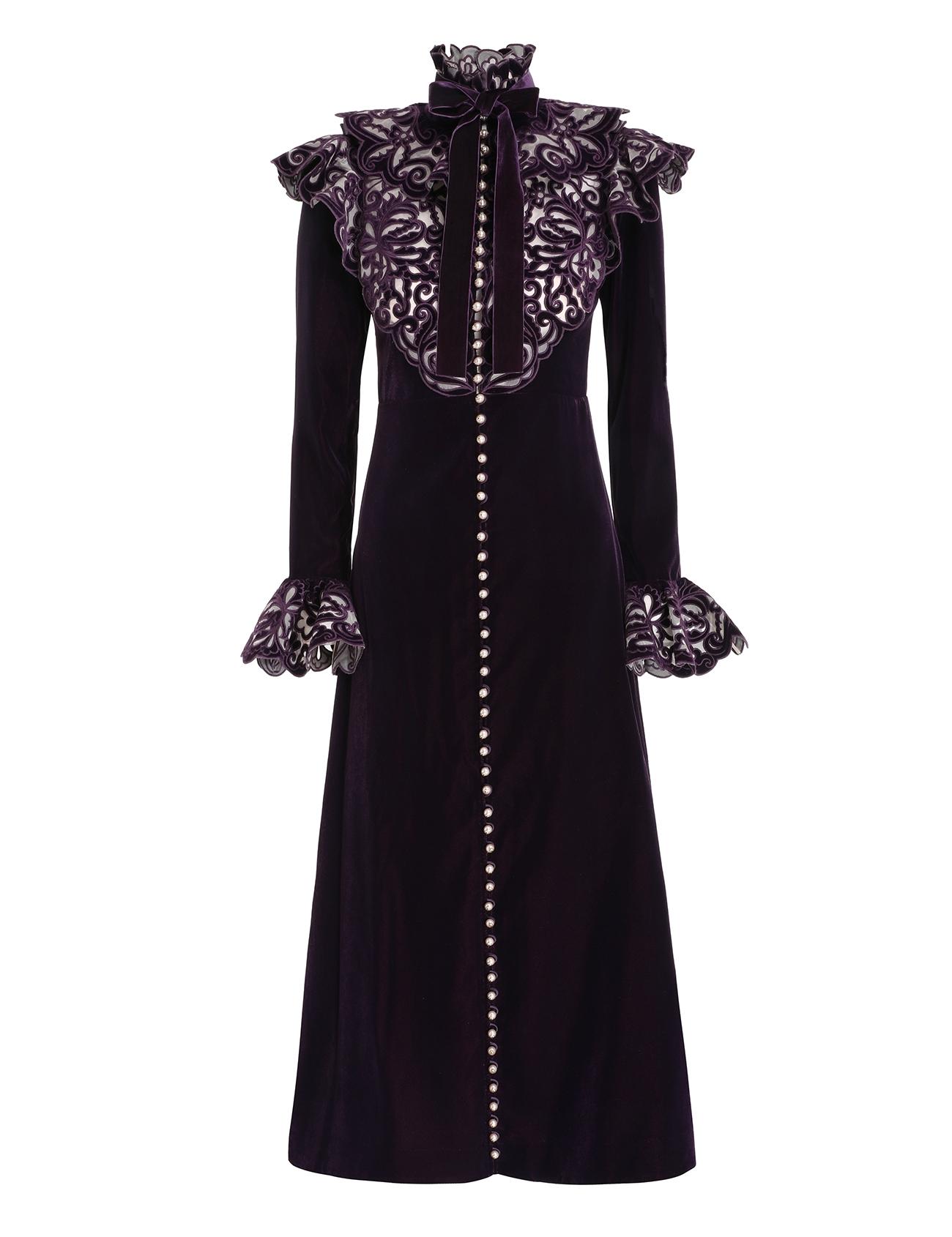 Charm Nouveau Velvet Dress