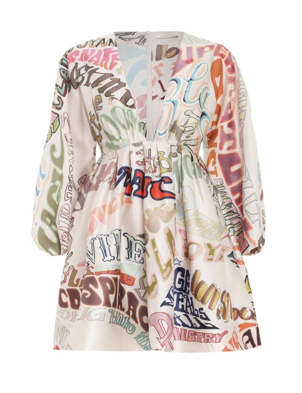Ladybeetle Word Mini Dress