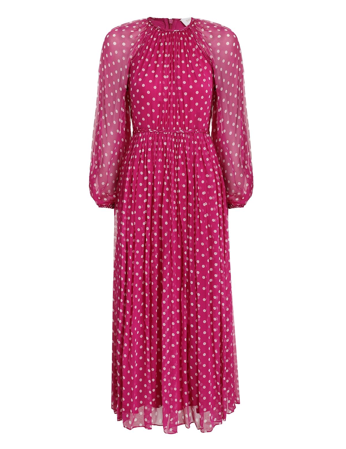 Lucky Braid Midi Dress