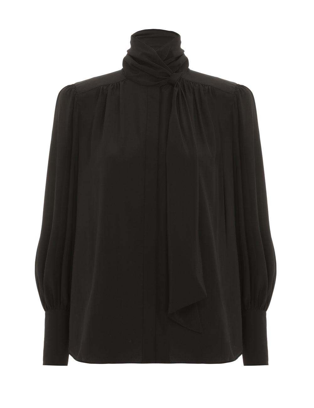 Silk Billow Shirt
