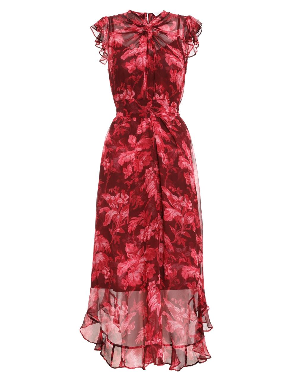 Ladybeetle Twist Flutter Dress