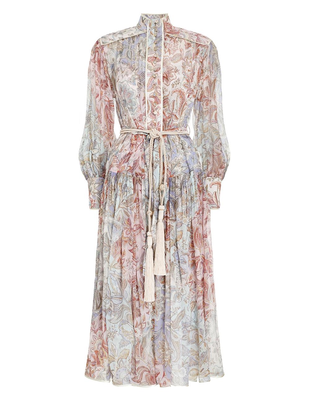 Lucky Bound Midi Dress