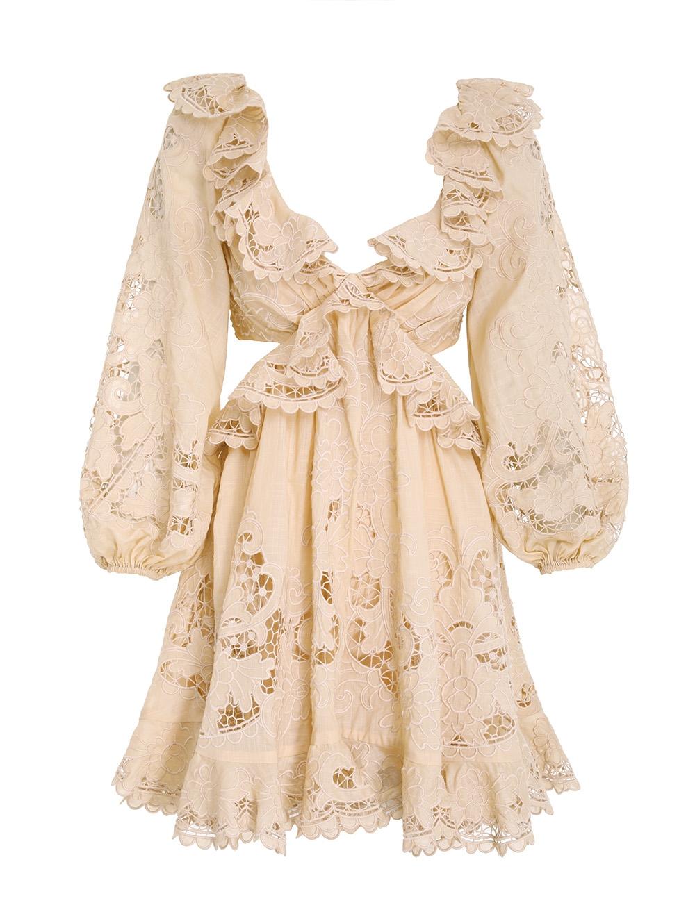Brighton Scallop Mini Dress