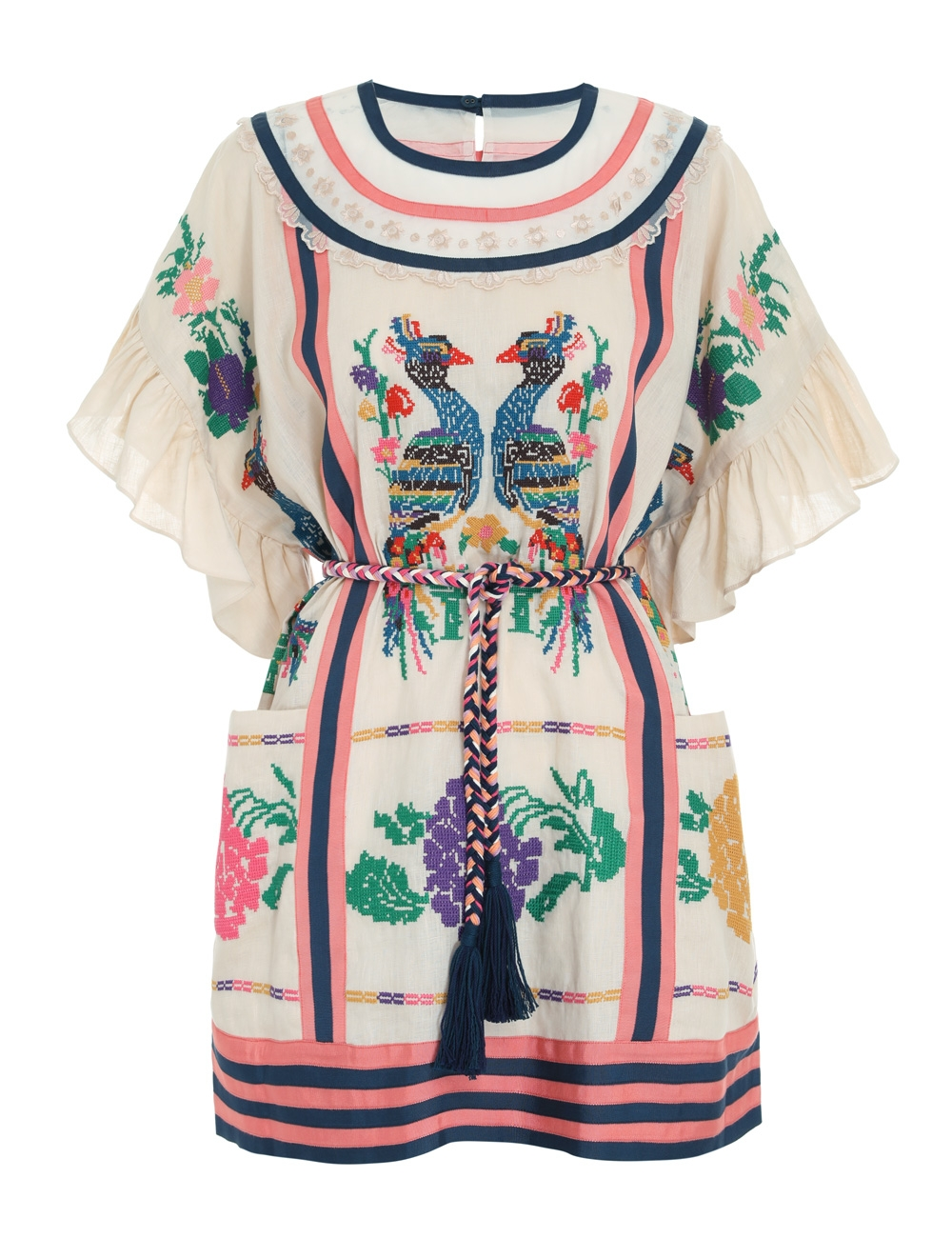 Riders Panelled Tunic Dress