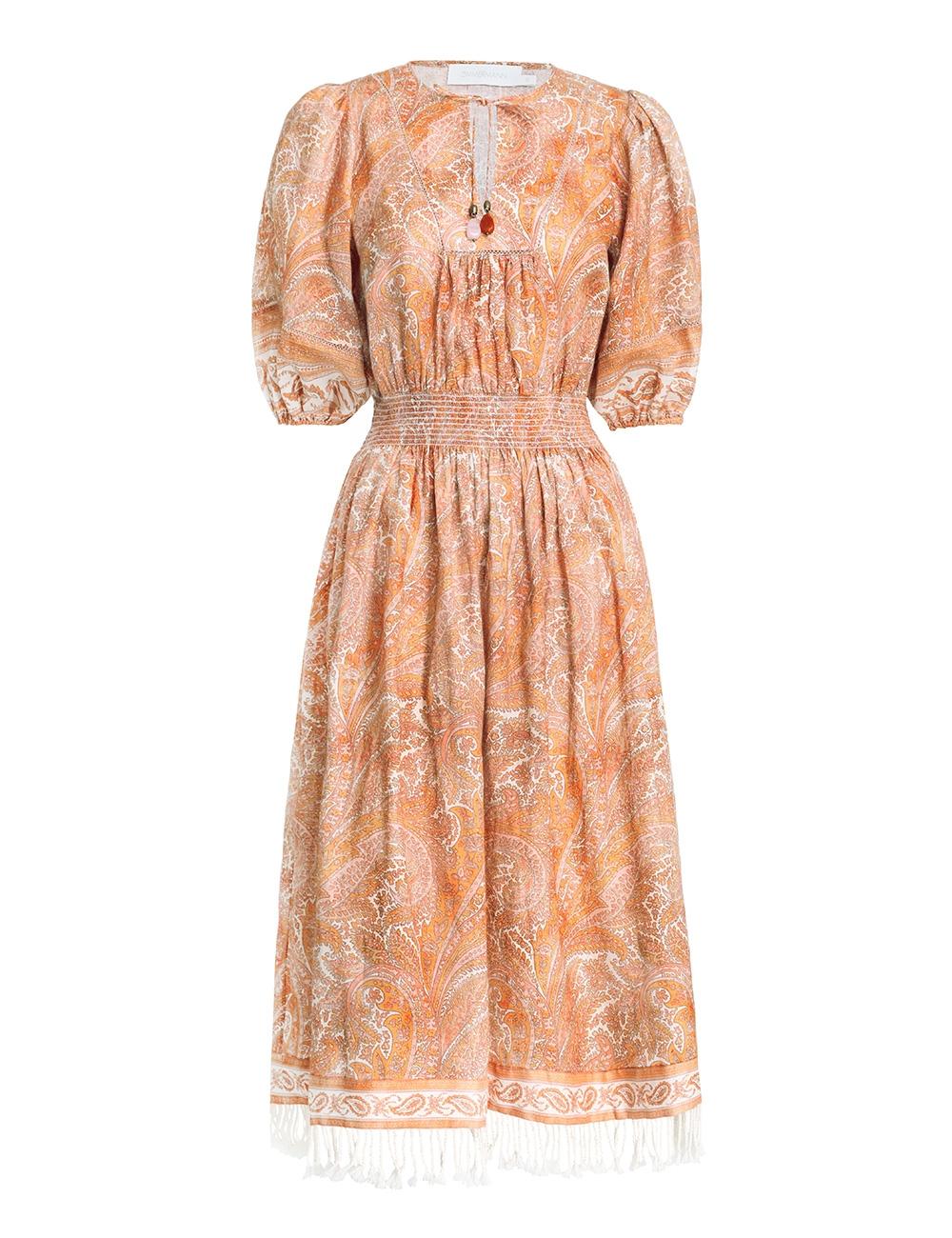 Brighton Shirred Waist Dress