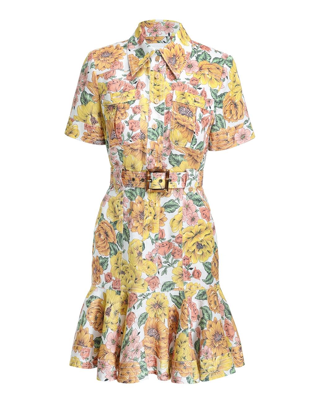Poppy Belted Mini Dress