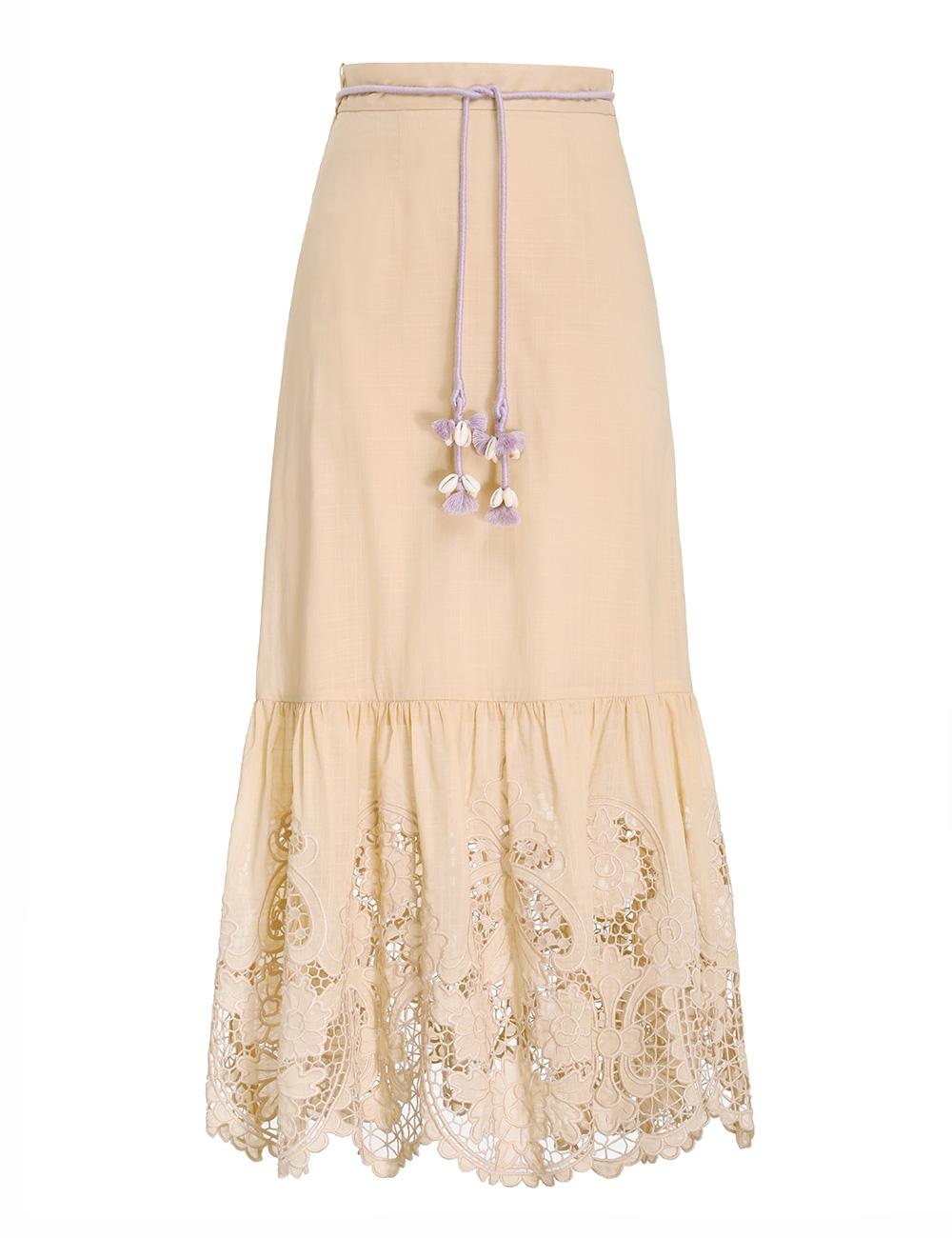 Brighton Scallop Frill Skirt