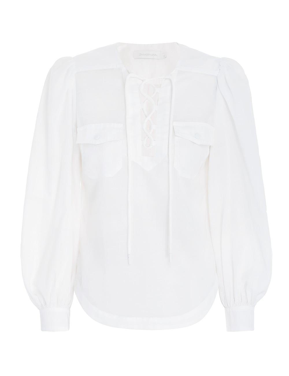 Lulu Lace Up Shirt