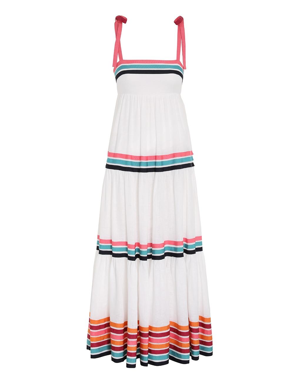 Lulu Ribbon Tiered Dress