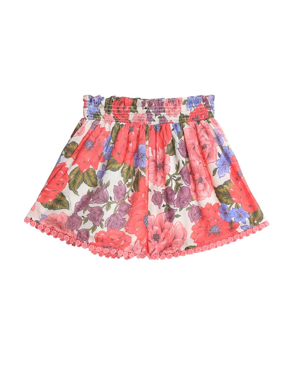 Poppy Shirred Waist Short