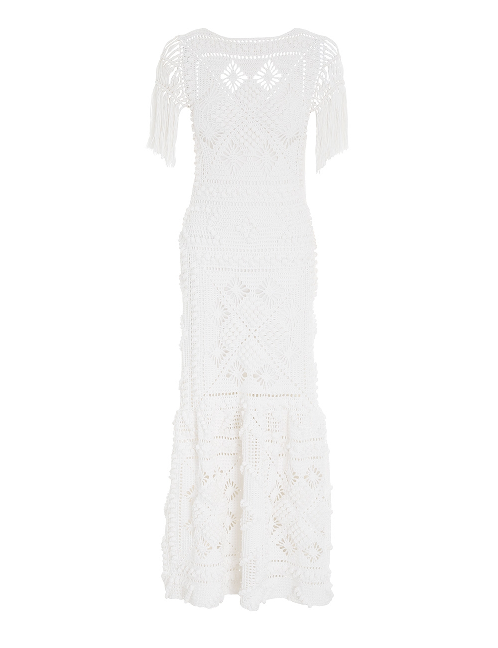 Candescent Hand Crochet Dress