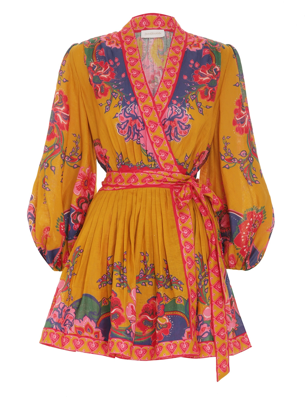 The Lovestruck Wrap Mini Dress