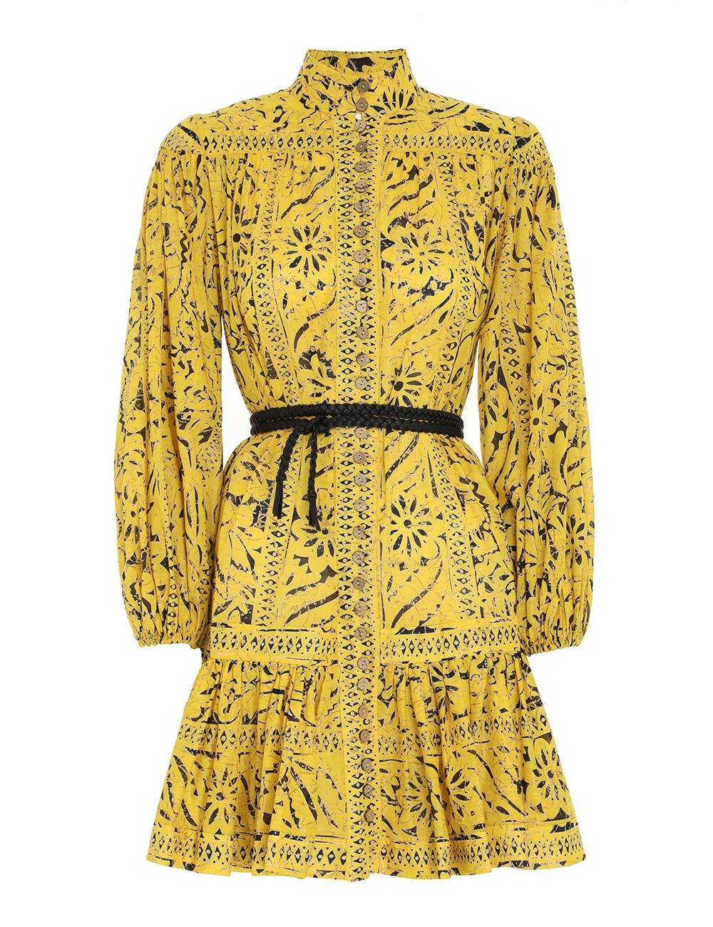 Lulu Drop Waist Mini Dress