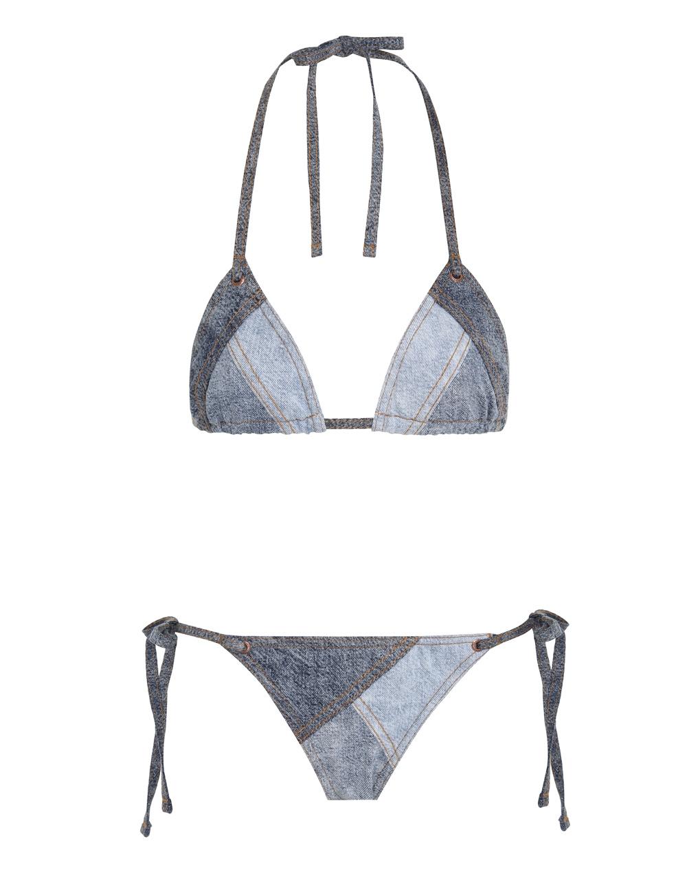 Brighton Blue Denim Bikini