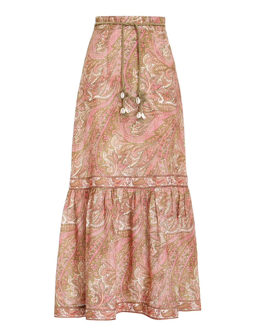 Brighton Frill Hem Midi Skirt