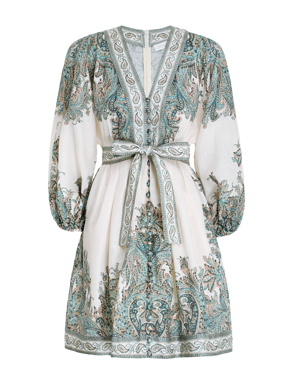 Brighton Paisley Mini Dress