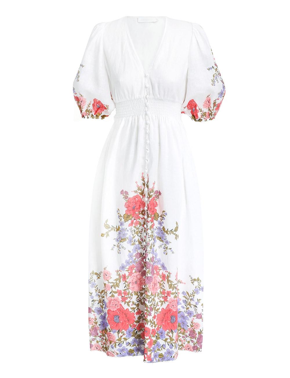 Poppy Shirred Waist Dress
