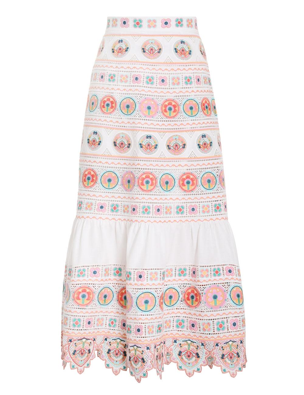 Brighton Embroidered Skirt
