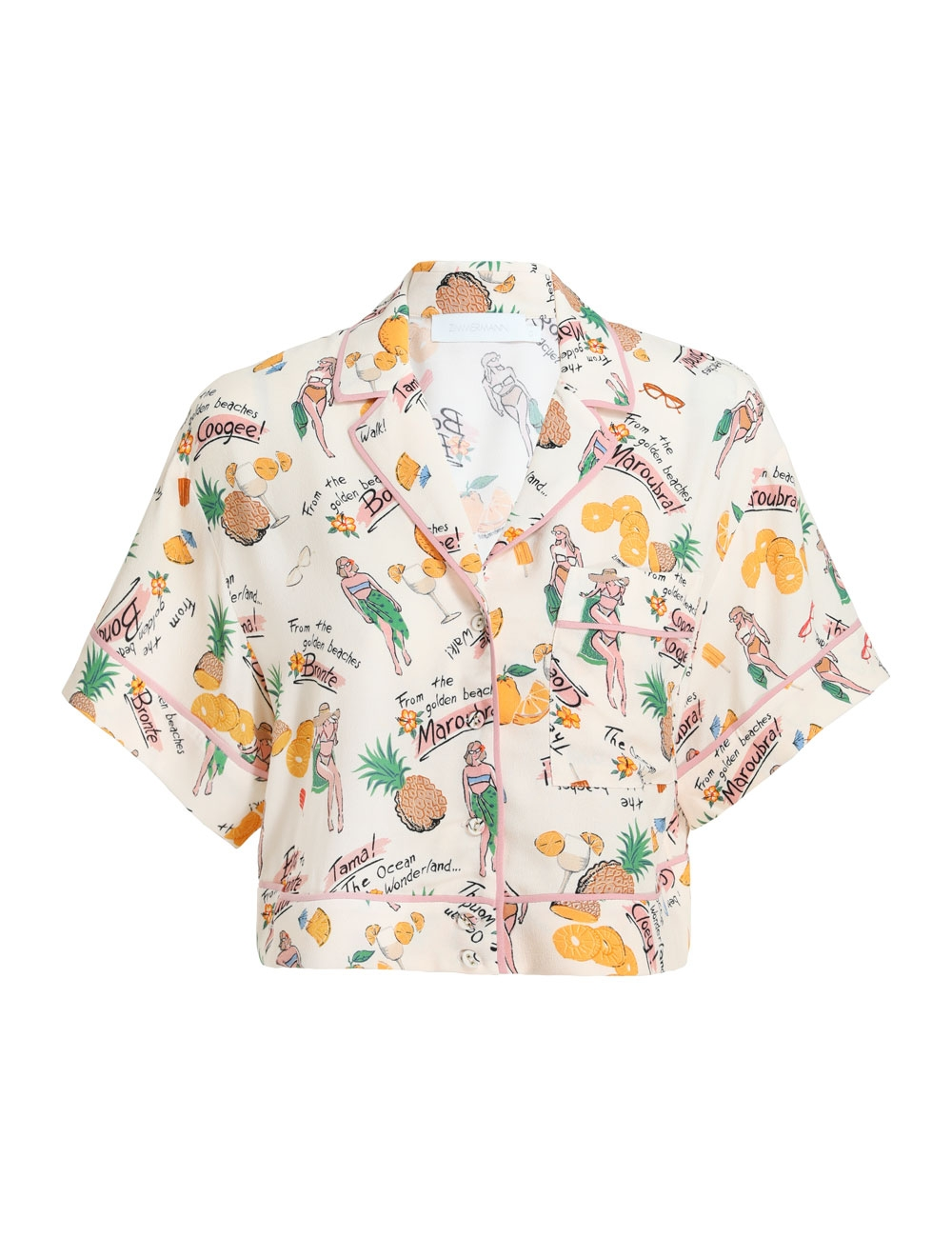 Riders Crop Relaxed Shirt