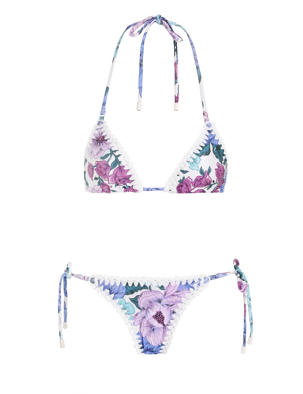 Poppy Crochet Edge Bikini