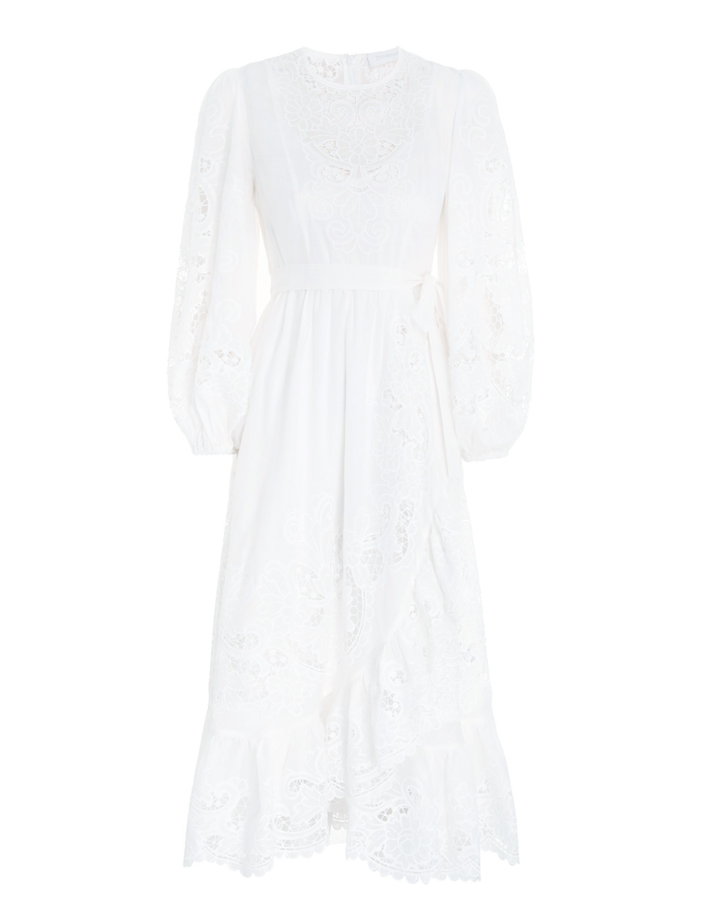 Lulu Scallop Frill Dress