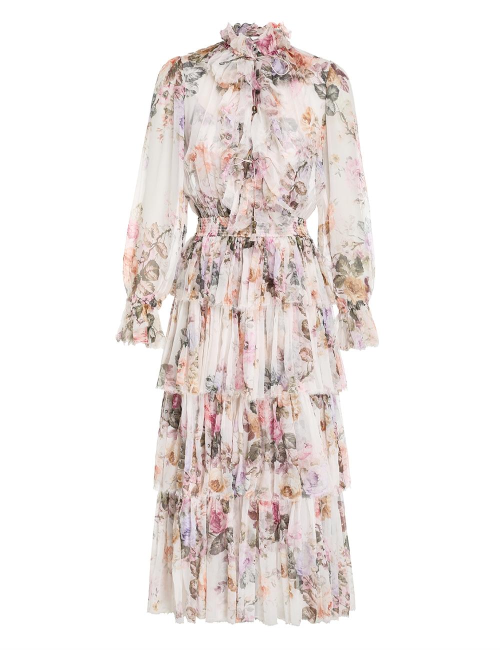 Brighton Tiered Frill Dress