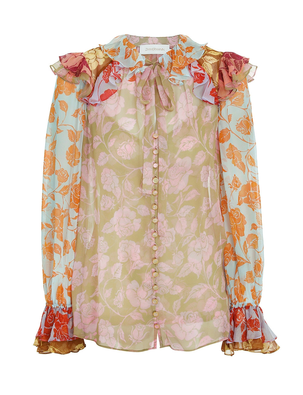 The Lovestruck Ruffle Shirt