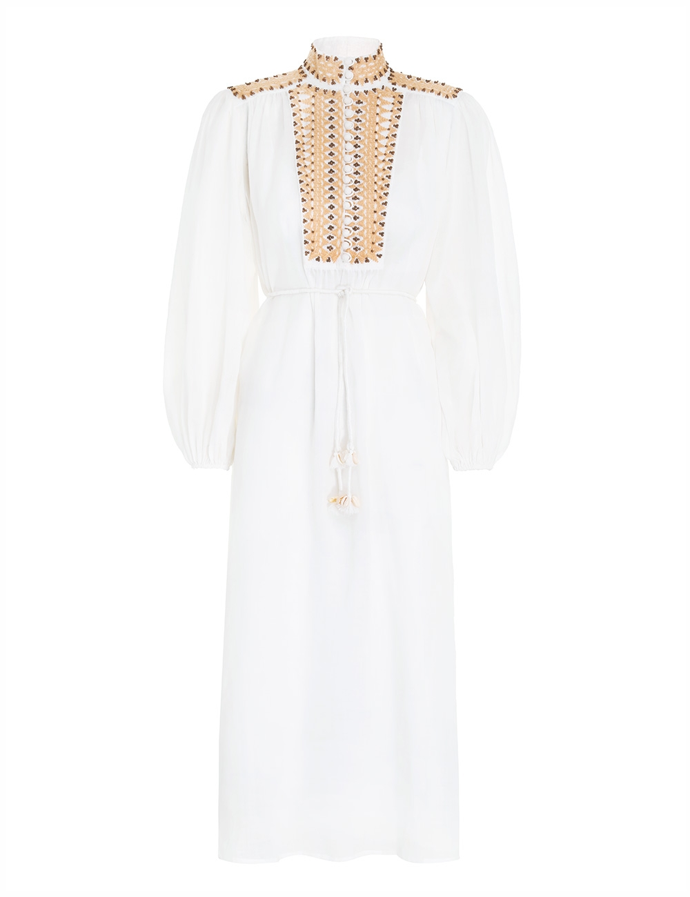 Brighton Beaded Yoke Dress