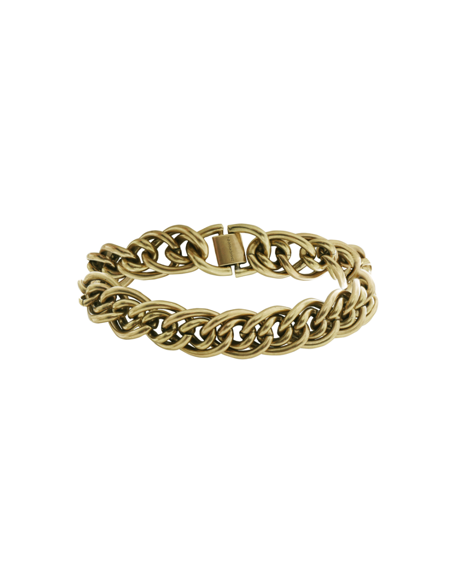 Double Link Chain Anklet