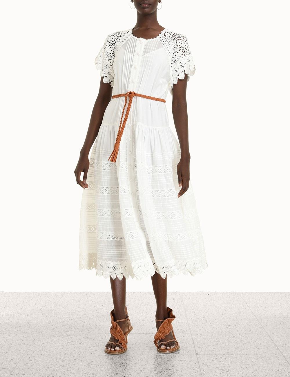 Aliane Crochet Dress