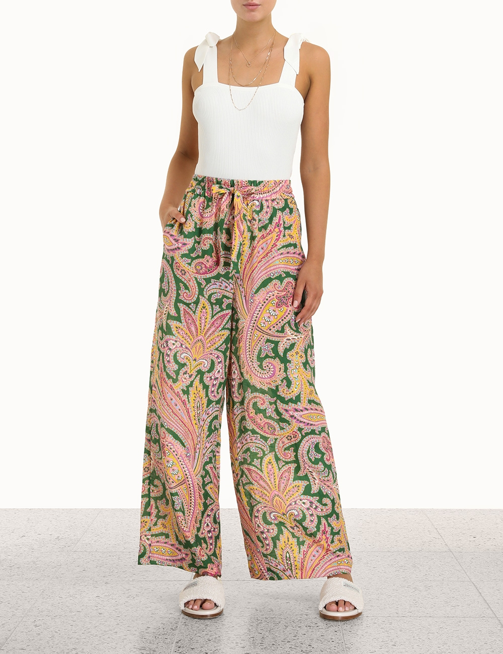 Teddy Draw Waist Pant