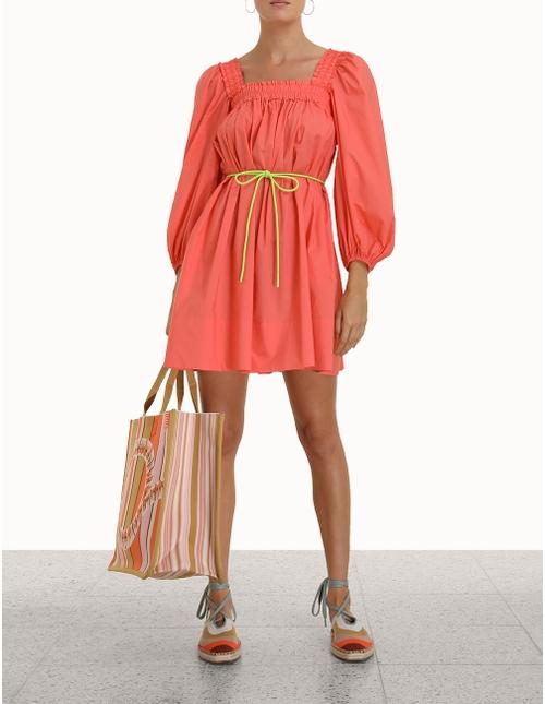 Nina Smocked Mini Dress