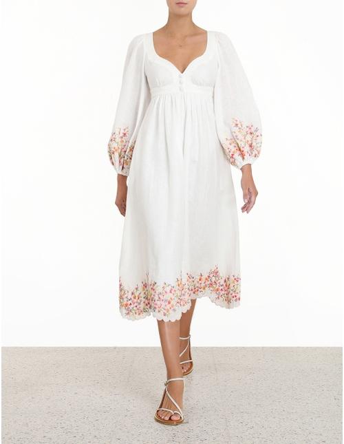 Mae Floral Midi Dress