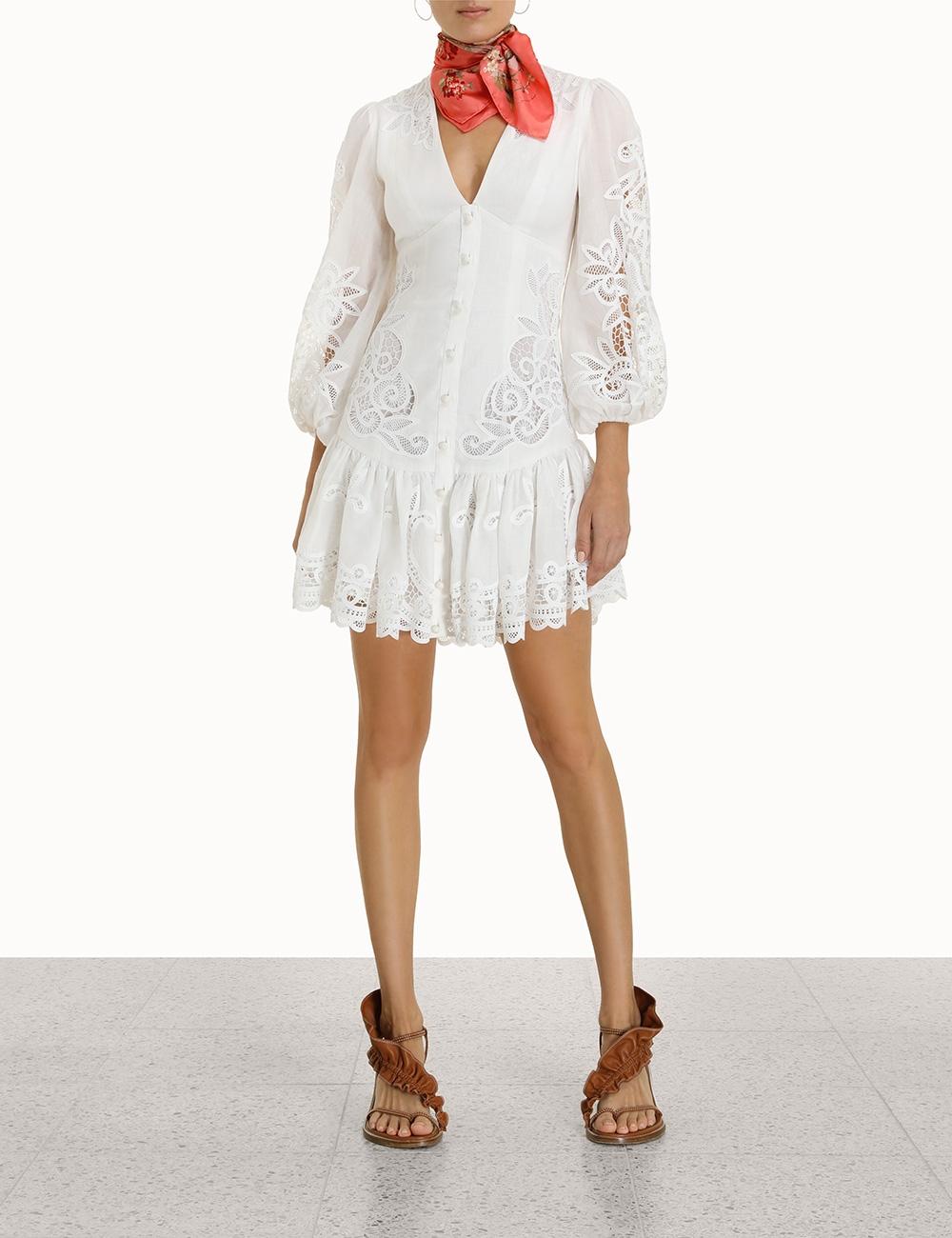 Mae Lace Mini Dress