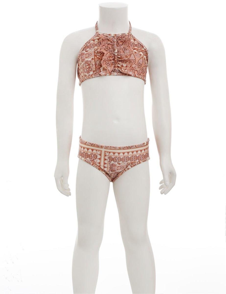 Primrose Ruffle Halter Bikini
