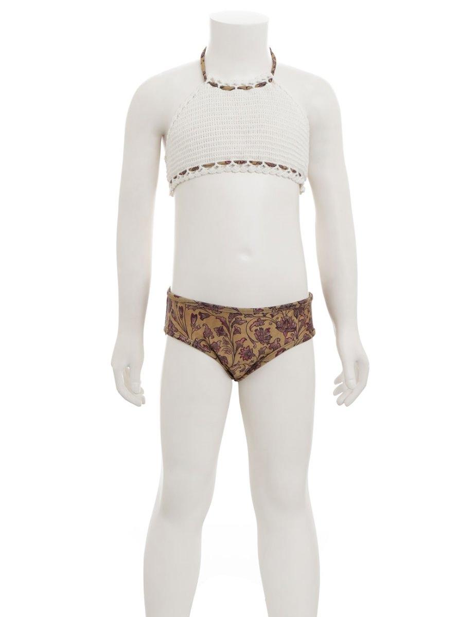 Juniper Crochet Halter Bikini