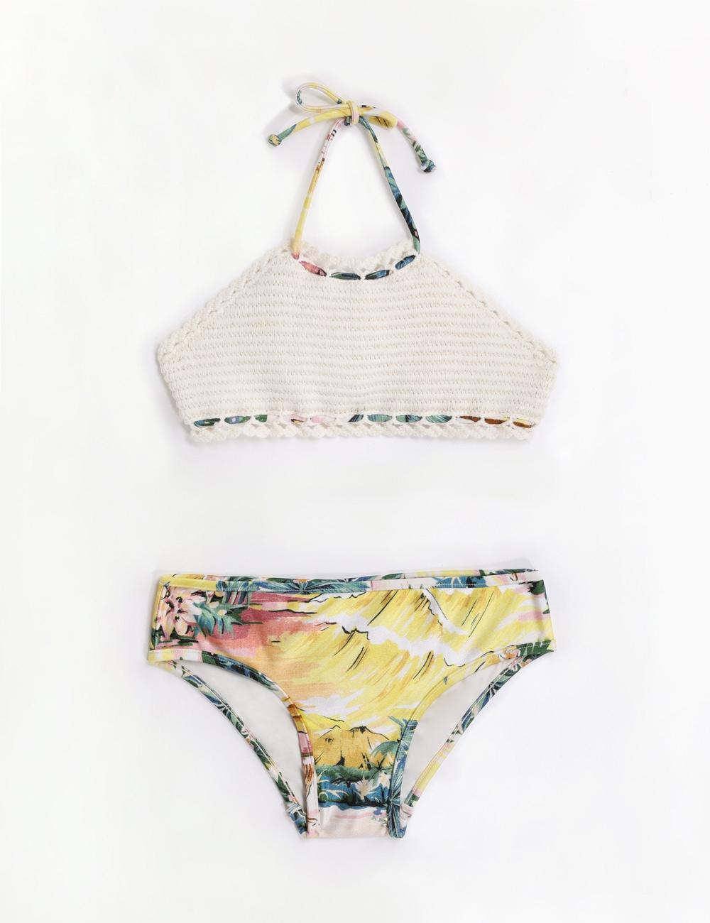 Juliette Crochet Halter Bikini