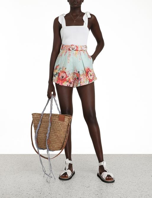Mae Floral Tuck Short