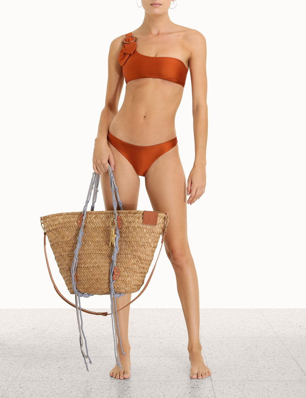 Estelle Buckle Shoulder Bikini