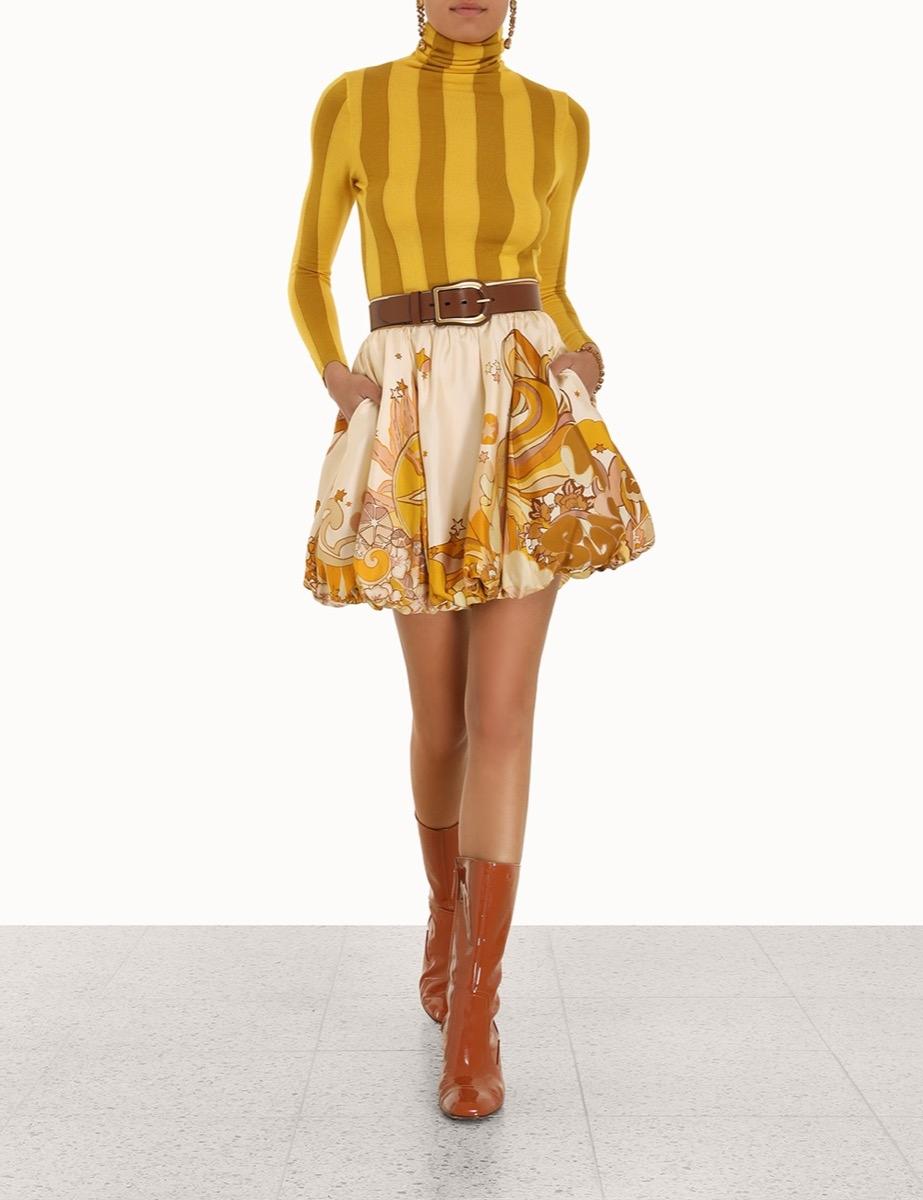 Tempo Bubble Skirt