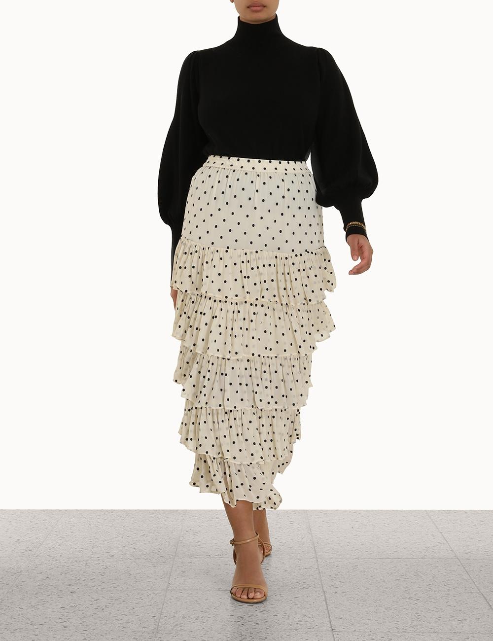 Concert Tiered Skirt
