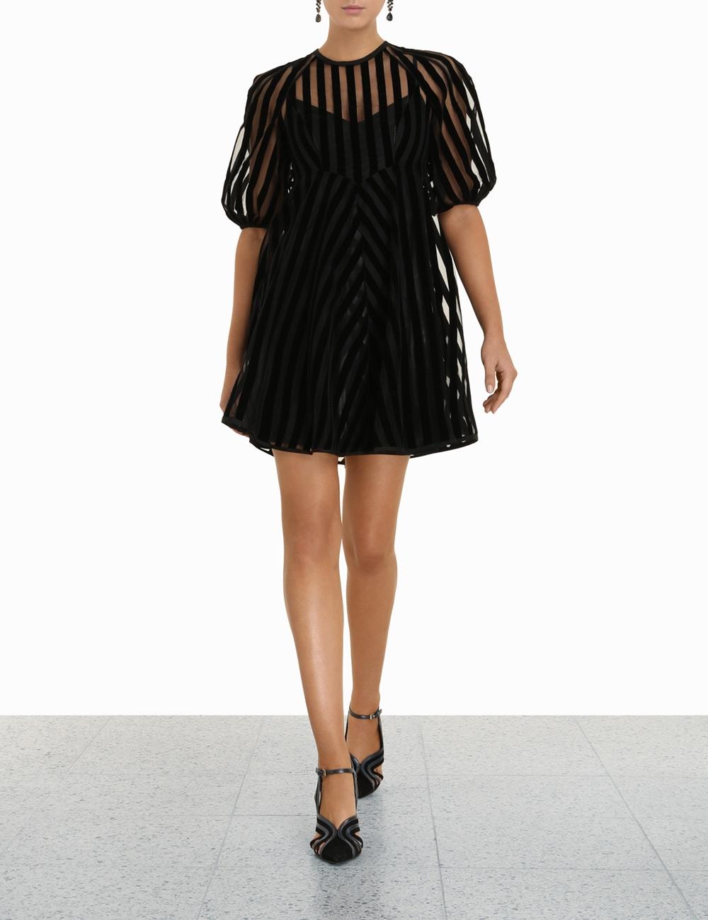 Striped Mini Dress